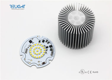 চীন CRI95 Triac Dimming Round LED Module Diameter 70mm for Panel LED Retrofit কারখানা