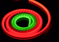 RGB Led Rope Light Neon Tube RGB Flexible LED Strip Lights 5050RGB with IC embedded IP67 for outdoor